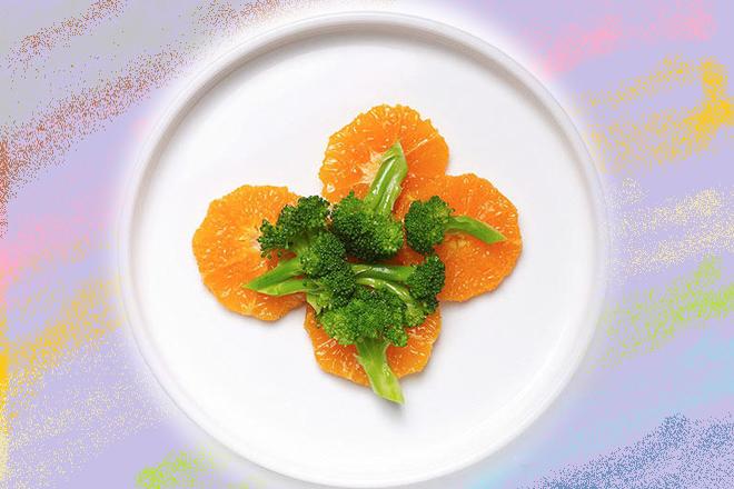 Bông cải xanh vui vẻ