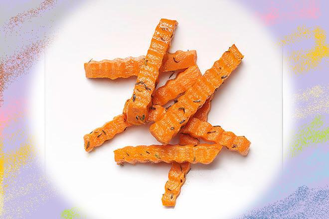 Cà rốt cắt khúc chiên