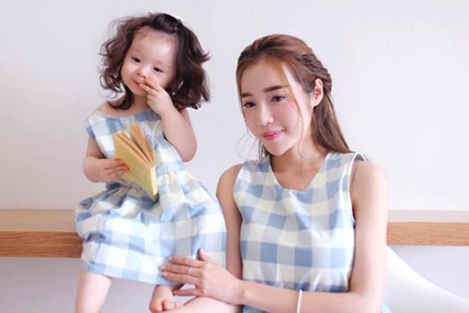 Elly Trần và con gái