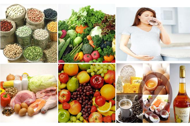 dinh dưỡng cho bầu