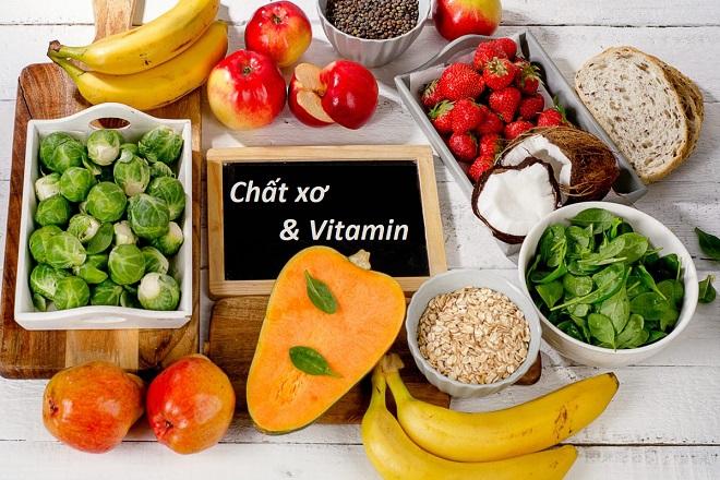 Chất xơ và vitamin