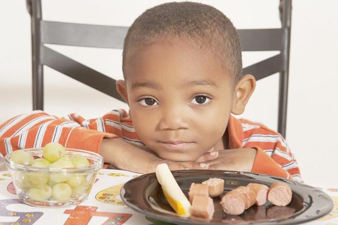 Trẻ từ chối món ăn yêu thích