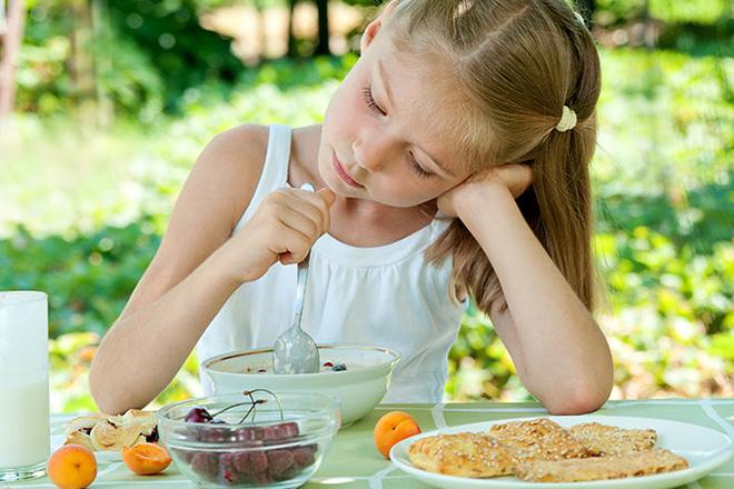 Tình trạng rối loạn ăn uống ở trẻ