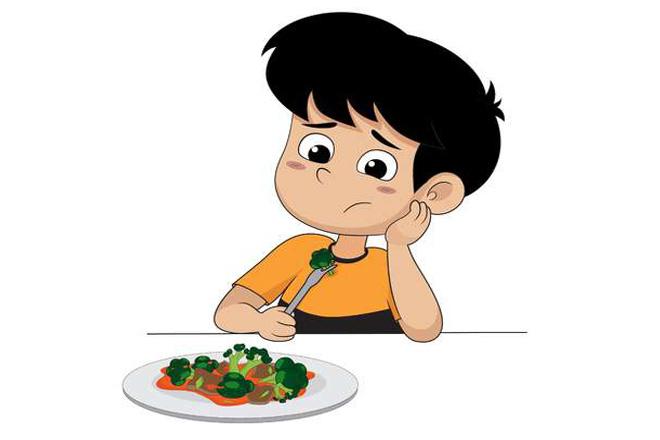 Trẻ chán ăn sinh lý tạm thời