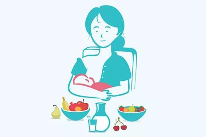 Dinh dưỡng tốt với mẹ cho con bú
