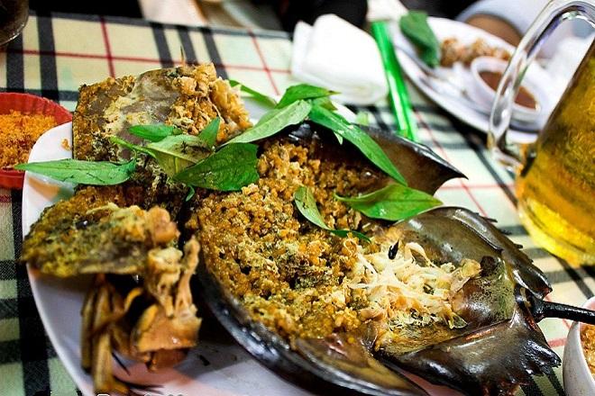 sam biển nướng