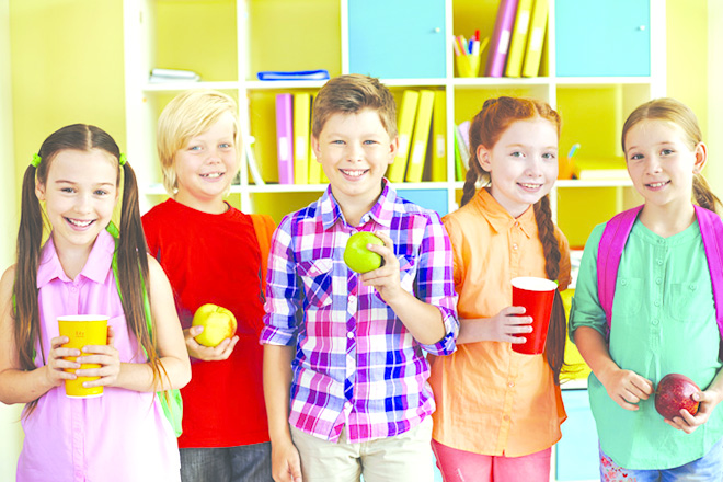 Trẻ em hạnh phúc