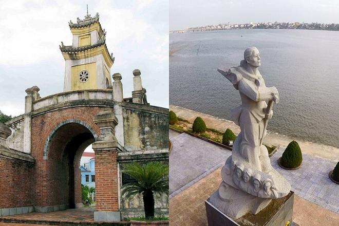 Quảng Bình Quan và tượng đài Mẹ Suốt
