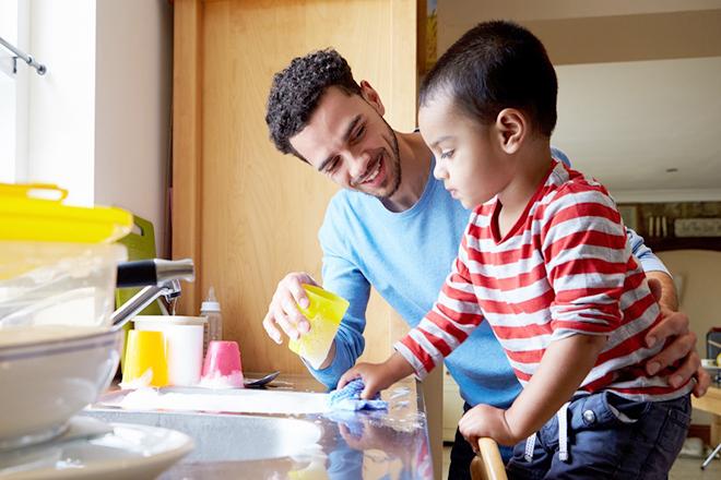 Dạy trẻ về tinh thần trách nhiệm từ sớm