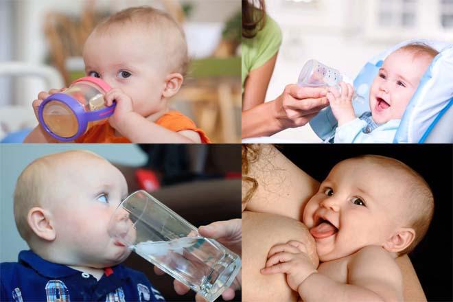 không cho trẻ mất nước