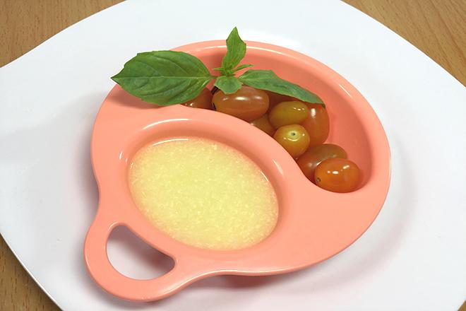 Cháo trứng cà chua