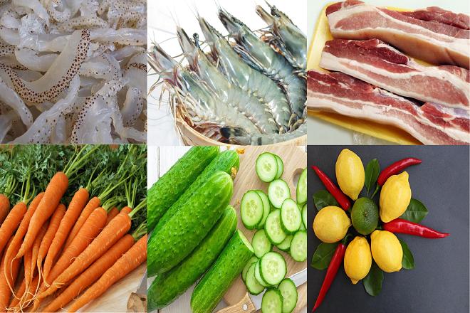 Nộm sứa tôm thịt