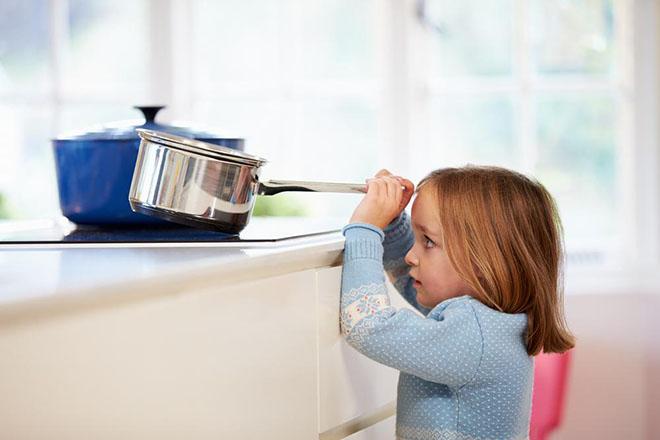 Trẻ em thường bị bỏng do nước sôi