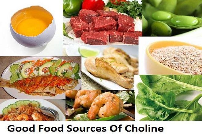 thực phẩm chứa choline