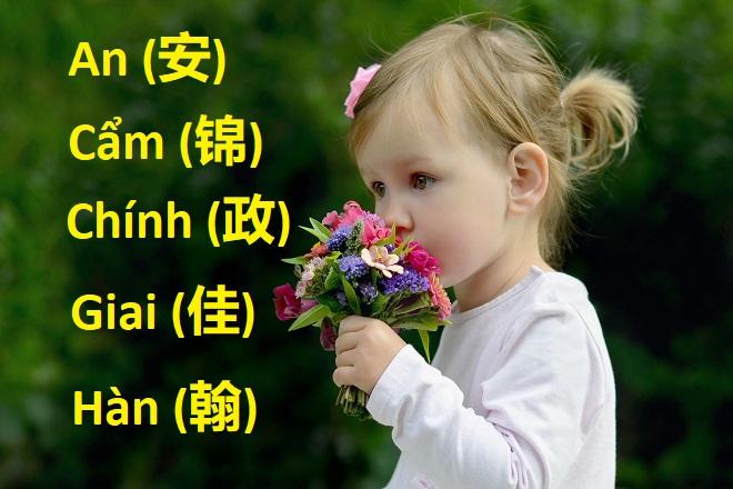 dặt tên Hán Việt