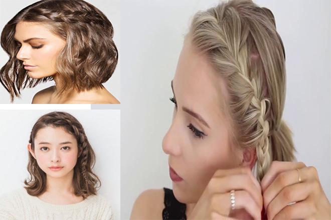 thắt tóc mái
