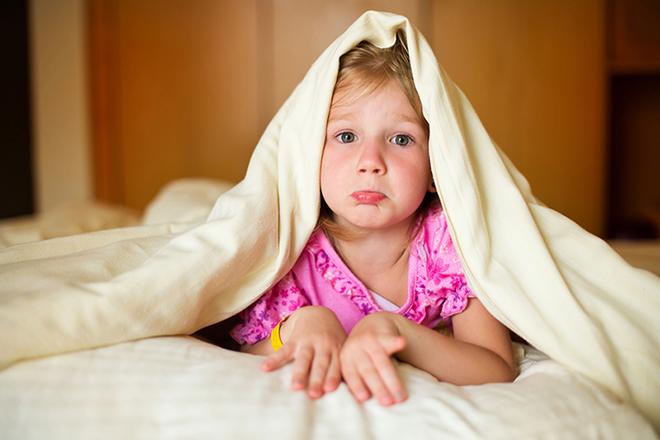 Trẻ ngủ không đúng giờ