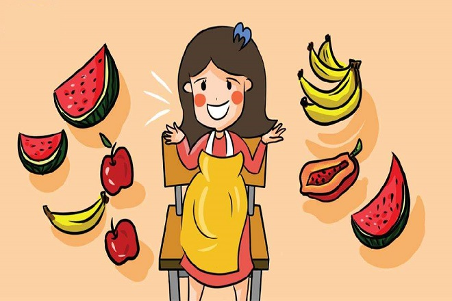 trái cây cho bầu