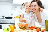 10 bí quyết rèn cho con thói quen ăn uống lành mạnh