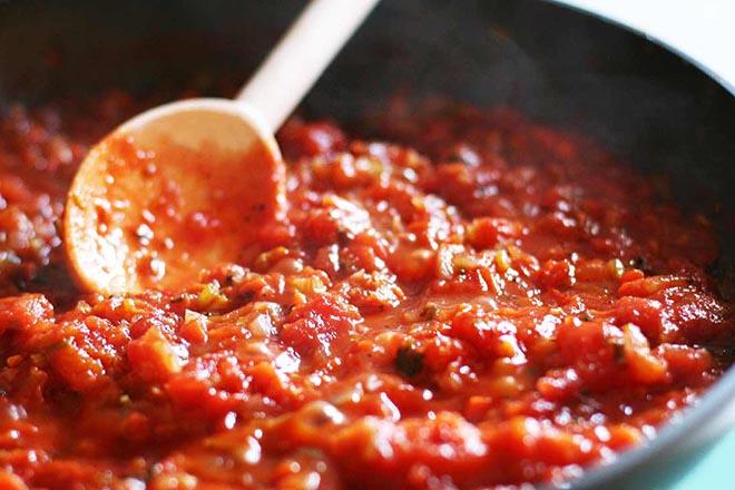 Nấu nhừ cà chua