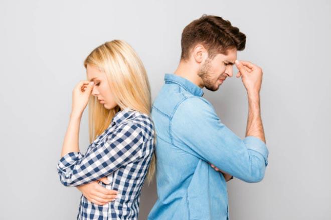 Cặp đôi bị stress