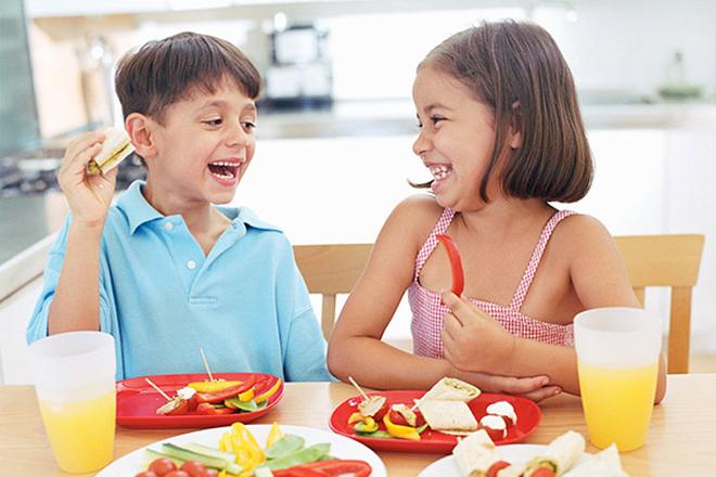 Dinh dưỡng cho trẻ em theo độ tuổi