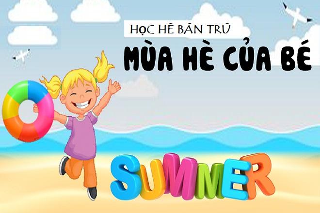 mùa hè của bé