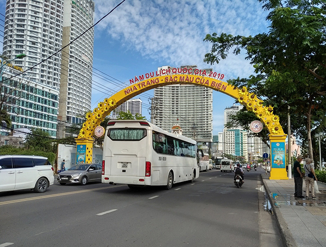 Xe đến Nha Trang