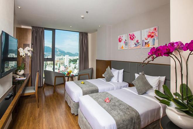 Phòng ở khách sạn DXT Nha Trang
