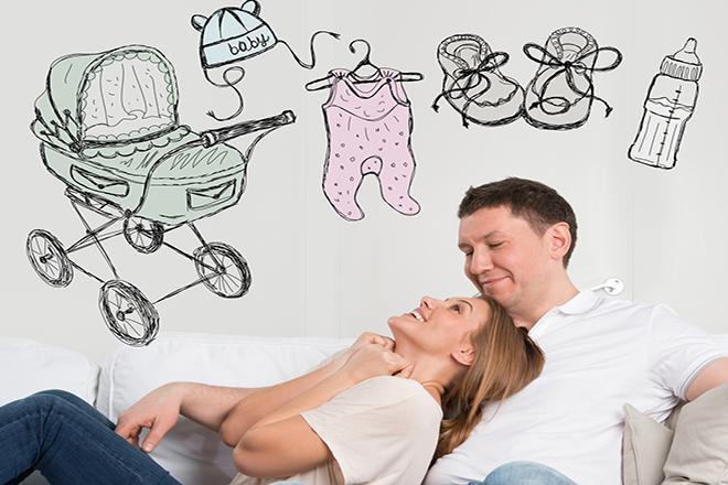 Vợ chồng bàn về chuyện có con