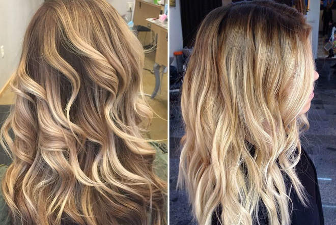 highlight balayage
