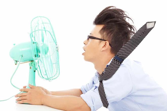 Tránh thay đổi nhiệt độ đột ngột