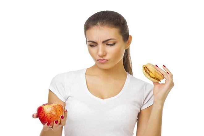 Ăn táo thay vì bánh mì