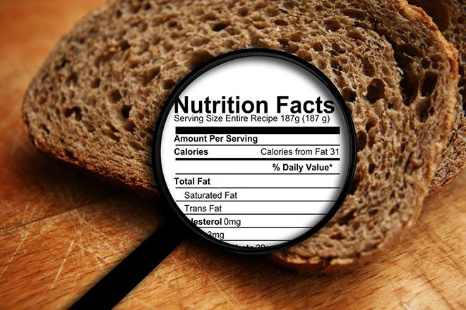 Kiểm soát calo từ bánh mì