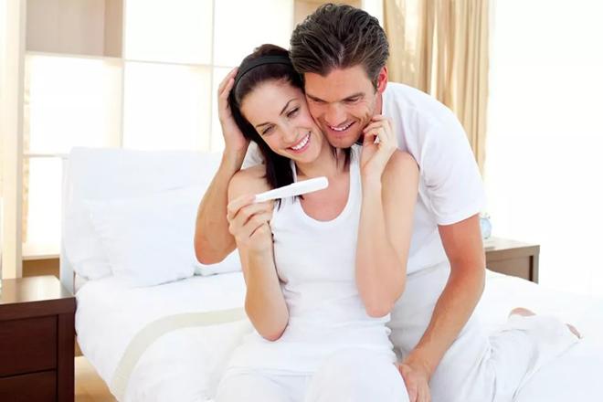 Vợ chồng có tin vui