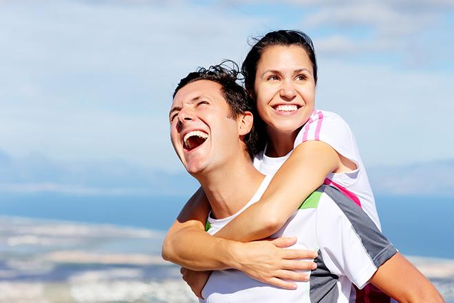 Vợ chồng khỏe mạnh