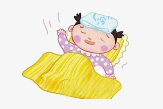 bé bị cảm cúm
