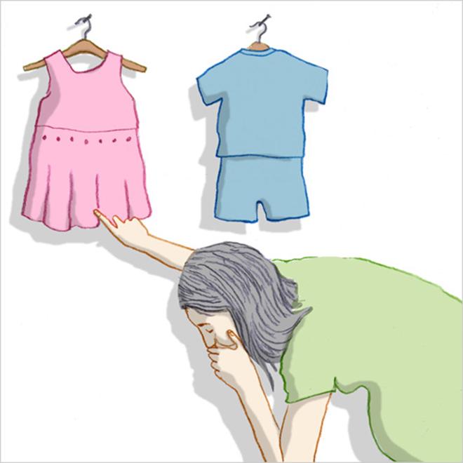 Ốm nghén nặng sinh bé gái