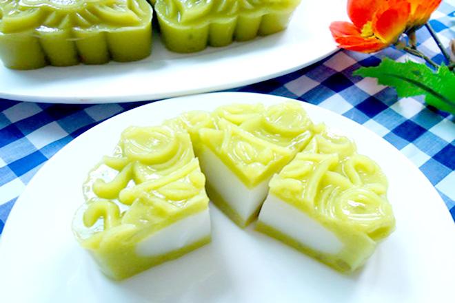 Bánh trung thu rau câu vị bơ