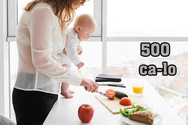 Bạn cần thêm 500 calo mỗi ngày