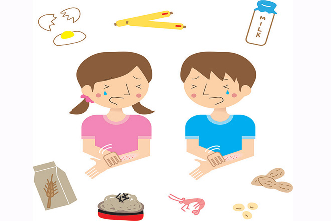 Bệnh dị ứng ở trẻ