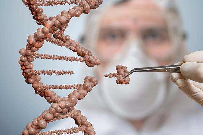Một phần mã DNA bị khuyết
