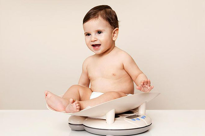 Trẻ tăng cân nhanh