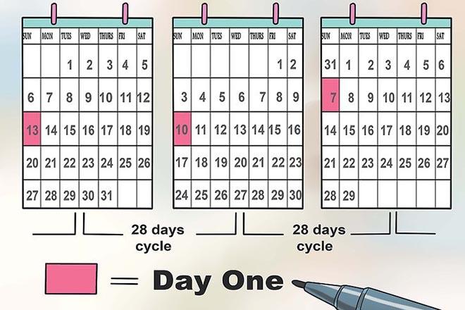 Chu kỳ kinh nguyệt 28 ngày