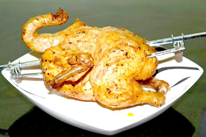 Cách nướng thịt gà ngon