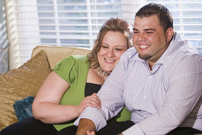 Cặp đôi béo phì