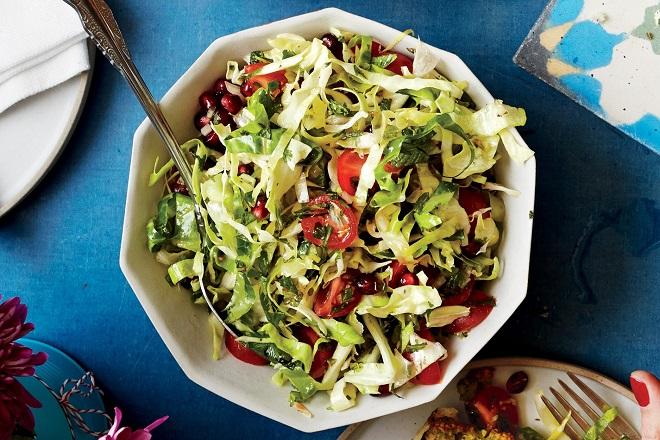salad bắp cải tươi