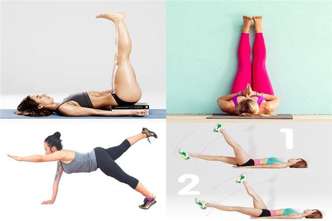tập thể dục chân