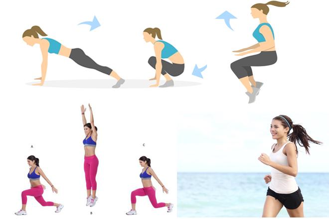động tác giảm cân