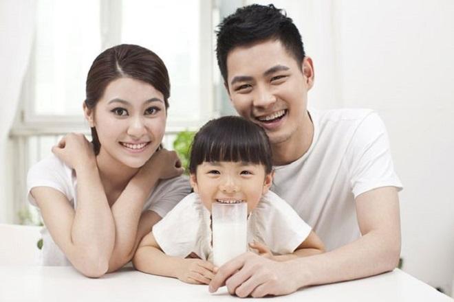 sữa cho bé